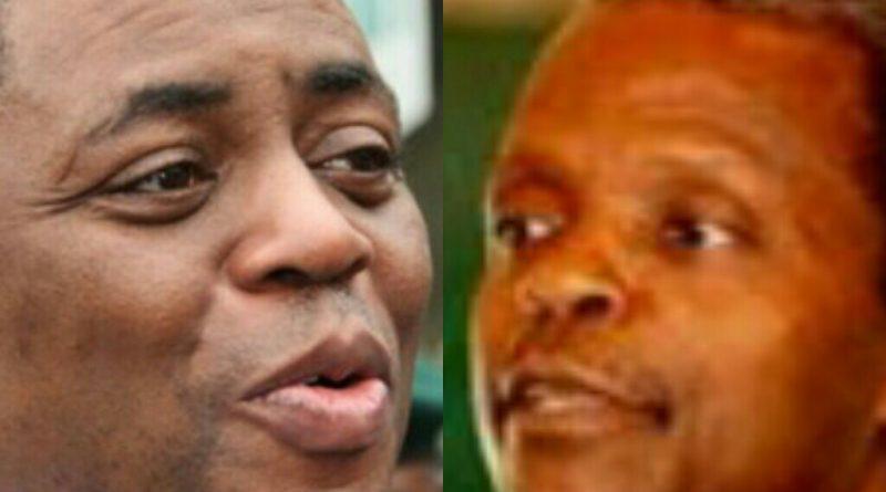 Femi Fani - Kayode, Yemi Osinbajo